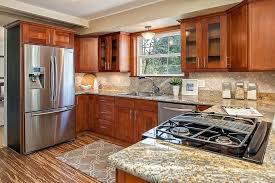 fascinating natural cherry cabinets natural cherry shaker unlike natural cherry cabinets with quartz countertops