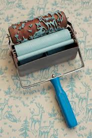 Wallpaper Paint The Paint Roller That Creates A Wallpaper Look Design Paint Rollers In India