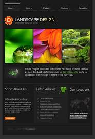 Landscape Website Designers Website Template 43044 Landscape Design Grass Custom