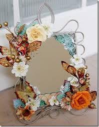 Diy mirror frame decoration Unusual Butterfly Framed Mirror Handmade Mirrors Shabby Chic Frames Butterfly Frame Diy Mirror Pinterest 173 Best Mirrors Images Mirrors Mirror Mirror Mirror