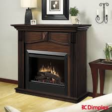 the dimplex holbrook burnished walnut electric fireplace mantel package combines beautiful furniture with the warm ambiance of a 23 in dimplex electric