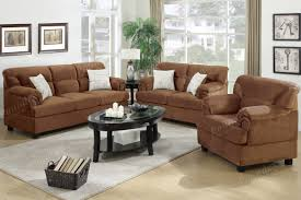 Microfiber Living Room Chairs Microfiber Living Room Furniture 3 Pc Sofa Set Sofa Loveseat Amp