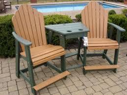 composite adirondack chairs. Balcony Settee W/Table Composite Adirondack Chairs I
