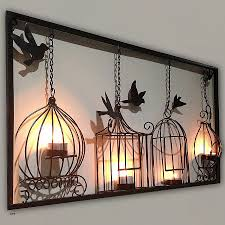votive candle holders with peg bottoms awesome birdcage tea light wall art metal wall hanging candle holder black