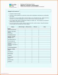 Best Budget Spreadsheet Free Simple Budget Template Inspirational 25
