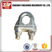 Wire Rope U0026 Cable Fittings  Cable Assemblies  Wire Rope AssembliesBulldog Clamp Wire Rope