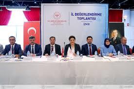 İzmir İl Değerlendirme Toplantısı Bakan Yardımcımız Sayın Prof. Dr. Emine  ALP MEŞE Başkanlığında 8-9 Ekim 2019 Tarihlerinde Gerçekleştirilmiştir.