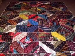 17 Best images about Tie Quilts on Pinterest | Necktie quilt ... & another men's tie quilt Adamdwight.com