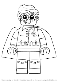 567x800 learn how to draw robin from the lego batman the lego