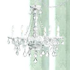 plug in chandelier plug in chandelier plug in chandelier sensational clear glass and acrylic plug in