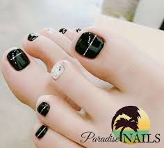 Cute Pedicure Designs Top 100 Cute Winter Toe Nail Designs