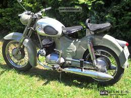 1954 Puch 175 Sv Old Motorcycles Old Bikes Vintage Motorcycles