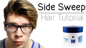 Hairstyles For Men To The Side Mens Side Swept Undercut Hair Tutorial Long Undercut Hairstyles