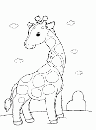 Small Picture Giraffe Coloring Pages Printable Giraffe Giraffescoloringpages adult