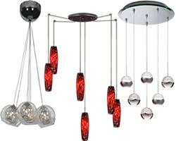 modern multiple pendants multi pendant chandelier36