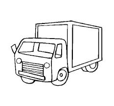 Disegno Di Camion 4 Da Colorare