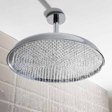 ceiling mounted shower head. Crosswater Belgravia 450mm Fixed Shower Head Ceiling Mounted C