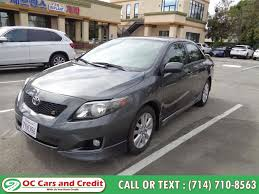 used 2010 toyota corolla in garden grove california oc cars and credit garden