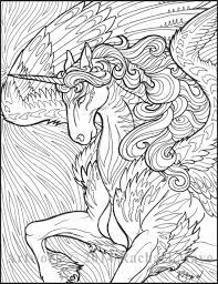 Unicorn Coloring Pages For Adults 20 Free Printable Unicorn Coloring