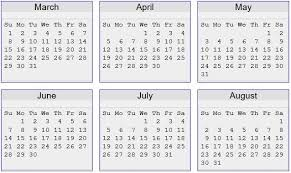 June July 2020 Calendar Summer And Fall Priority Schedule Admissions