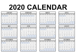 Get your free printable calendar templates 2020 for yearly, monthly. Calendar Year 2020 Holidays Template 2019 Calendars For Students Education Calendar Year 2020 Holidays Template