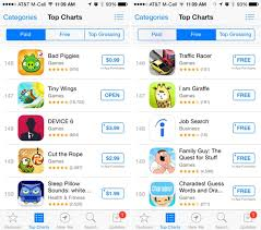 Ios App Store Top Charts Now Display 150 Results Down From