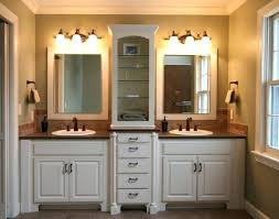 Dual Sink Bathroom Vanity Bathroom Outstanding White Double Sink