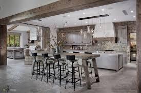 astounding modern kitchen island. Kitchen Island, Astounding Stone Wall Idea Fancy Black Iron Bar Stool Extravagant Island Wooden Cabinetry Modern