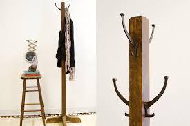Coat Stand Rack Vanity Tree Coat Stand Foter Of Free Standing Rack Wood Ataa 19