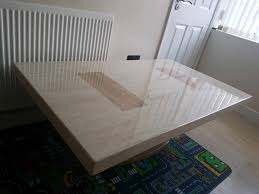 scs marble coffee table