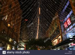 Sydney Streets With Christmas Lights The Boulevard Of Light Consists Of Around 62 000 Christmas