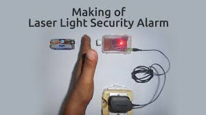 How To Make A Laser Light Security System How To Make A Laser Light Security Alarm Security Alarm