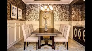 Stunning Dining room wallpaper designs