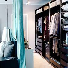 Walk In Closet Furniture Walk THROUGH Closet Use Extra Space Behind Your Bed With A Curtain The Headboard In Furniture S