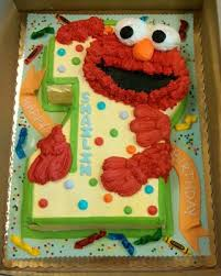 Elmo First Birthday Cake Paris Bakery 3d Cakes In 2019 Elmo
