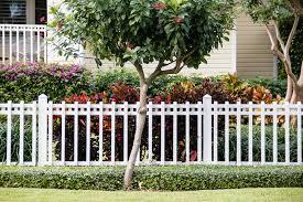 white fence. White Fence Tropical Croton Plants