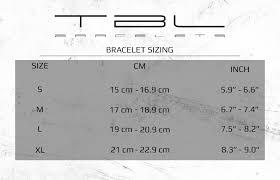 Bracelet Size Chart Men Tbl Bracelets Size Guide