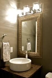 powder room lighting. Powder Rooms Framed Mirrors Room Lighting