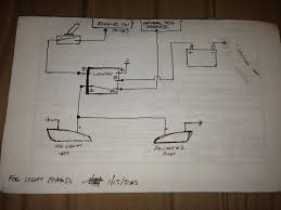 simple wiring diagram to bypass foglights works w o headlights or simple wiring diagram to bypass foglights works w o headlights or w highbeams
