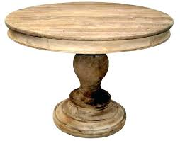unfinished wood pedestal table base dining legs wooden round for unfinis