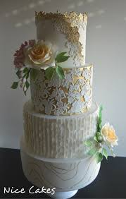 Vintage And Modern Wedding Cake Cake By Paula Rebelo Cakesdecor