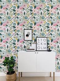 super cool ideas adhesive wall paper new trends seamless flower self wallpaper vintage fl home depot