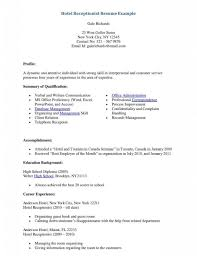 Resume Examples For Receptionist Receptionist Resumes Resume Duties Medical Job Descri Sevte 83