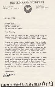 best chicanos images chicano mexican and mexicans letter from cesar chavez to julian nava 11 1971 nava and chavez