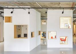 cool office cubicles.  Cubicles The Studio Filled The 400squaremetre Commercial Office With Individual  Woodlined Booths That Look Like Miniature  Throughout Cool Office Cubicles U