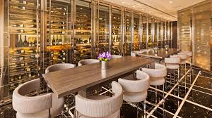 Living Room Bar Miami St Regis Bar Wine Vault The St Regis Bal Harbour Resort