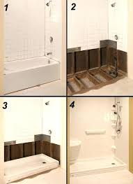 converting bathtub to stand up shower bath to shower conversion tub conversions within convert bathtub to