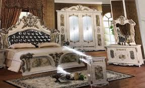 Schlafzimmer Barock Komplett Schrank Bett Atris 24