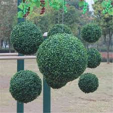 Decorative Feather Balls Classy WholesaleModern Plastic Topiary Artificial Leaf Effect Ball Boxwood