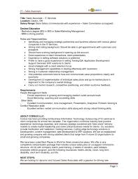 Sales Associate Job Description Resume And Get Ideas To Create